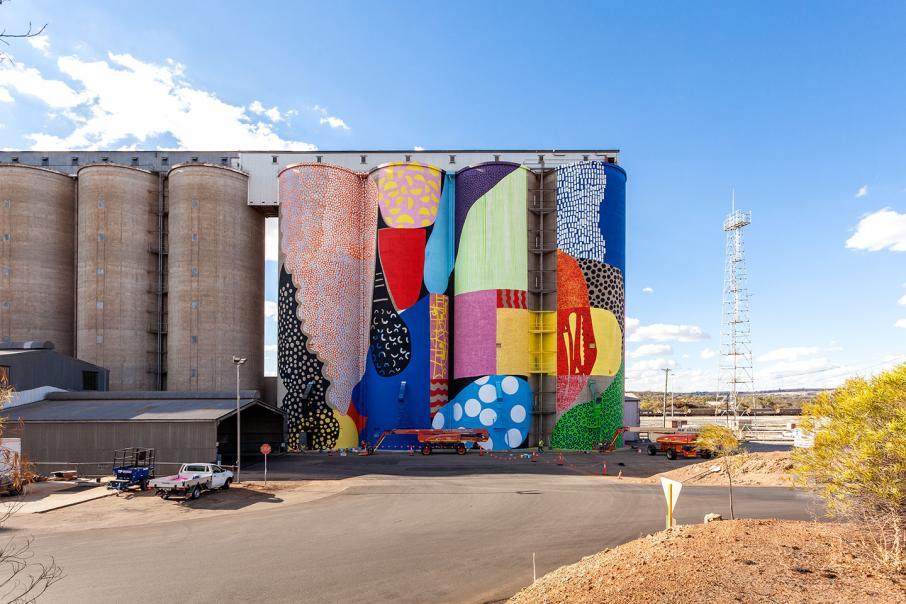 Mural to revamp Merredin silos