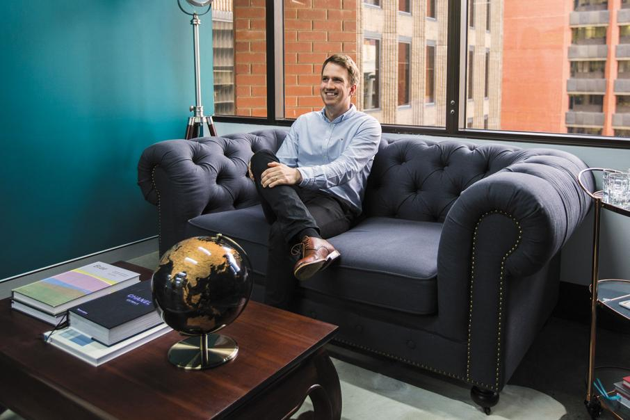 Recruiter designs city digs to draw people in