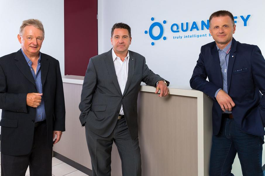 Quantify in deal with Harvey Norman