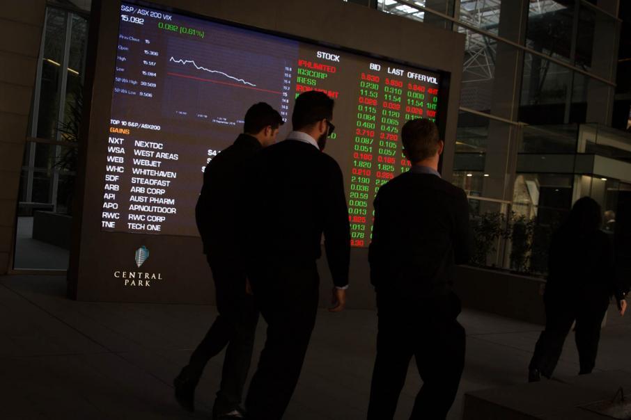 Aust shares follow negative Wall St lead