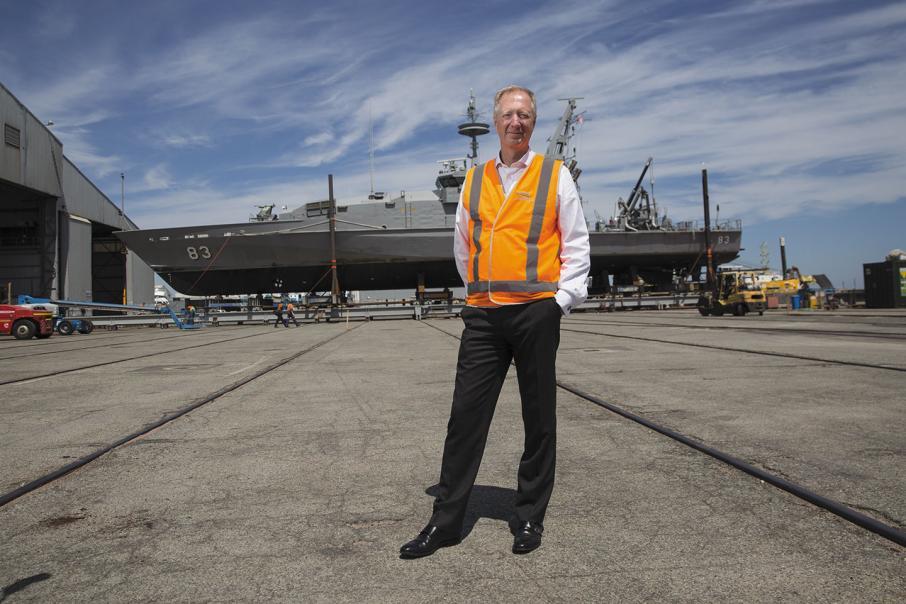 Austal, Civmec positive on $4bn naval build