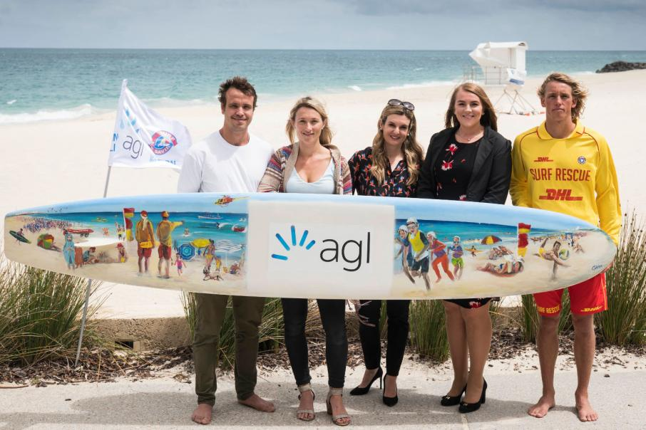 AGL gives $600,000 to support Surf Life Saving