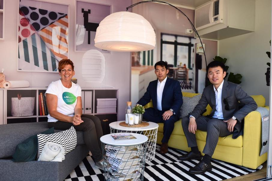 Pop-up gives a taste of apartment living