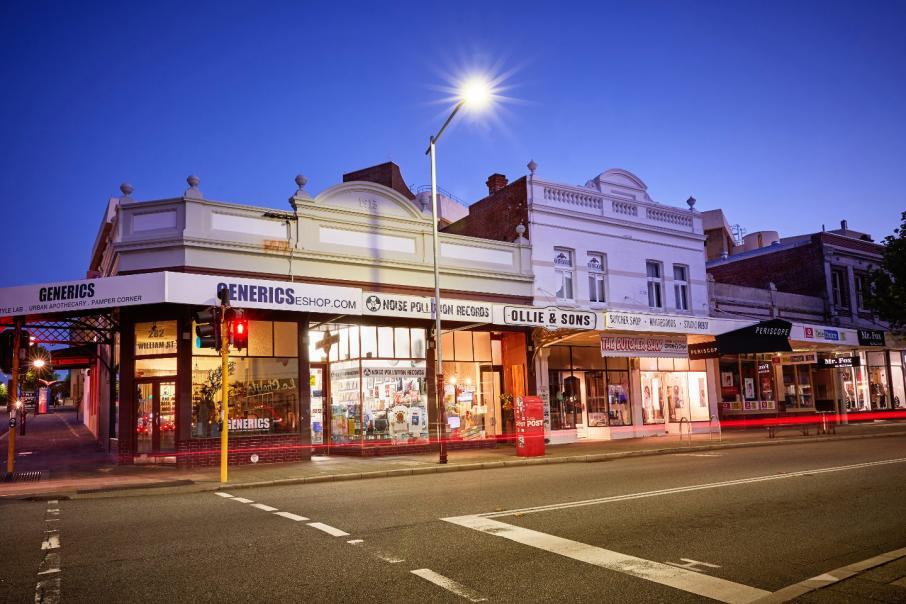 Heritage-listed strip for sale