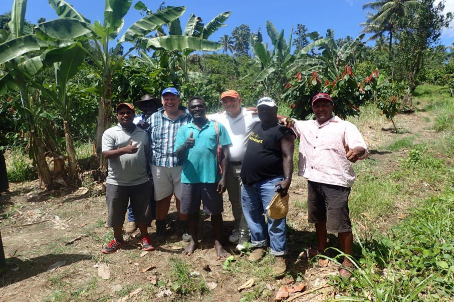 Bougainville geophysics rival world's greatest : Kalia