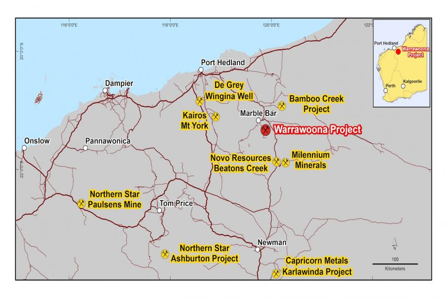 Calidus adds 300,000 ounces of gold in Pilbara