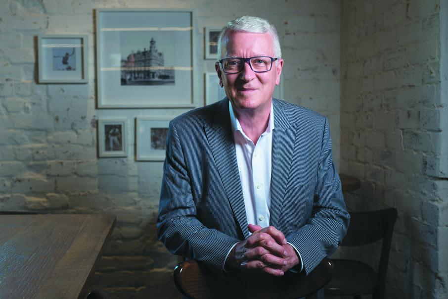 CEO lunch with Gary Roberts