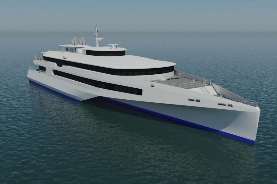 Austal signs MOU for Japanese trimaran