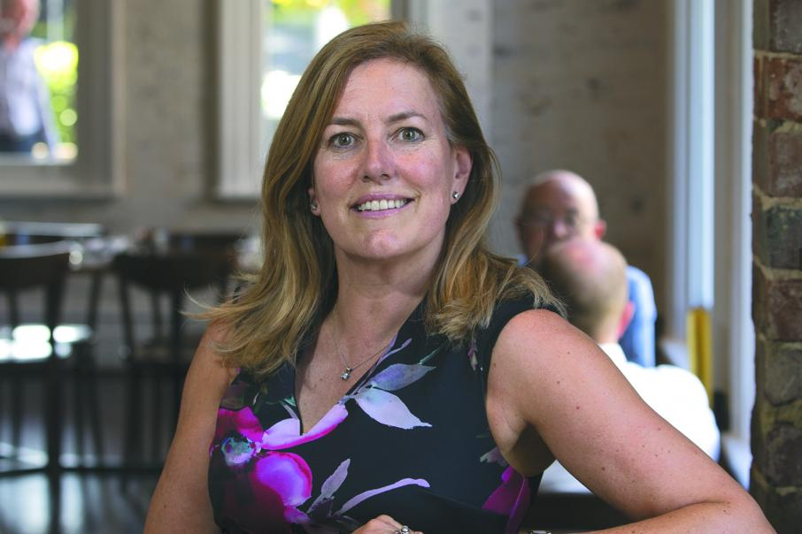 CEO lunch with Paula Rogers