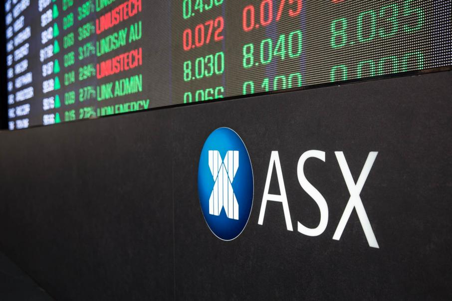 Australian share market opens in the red