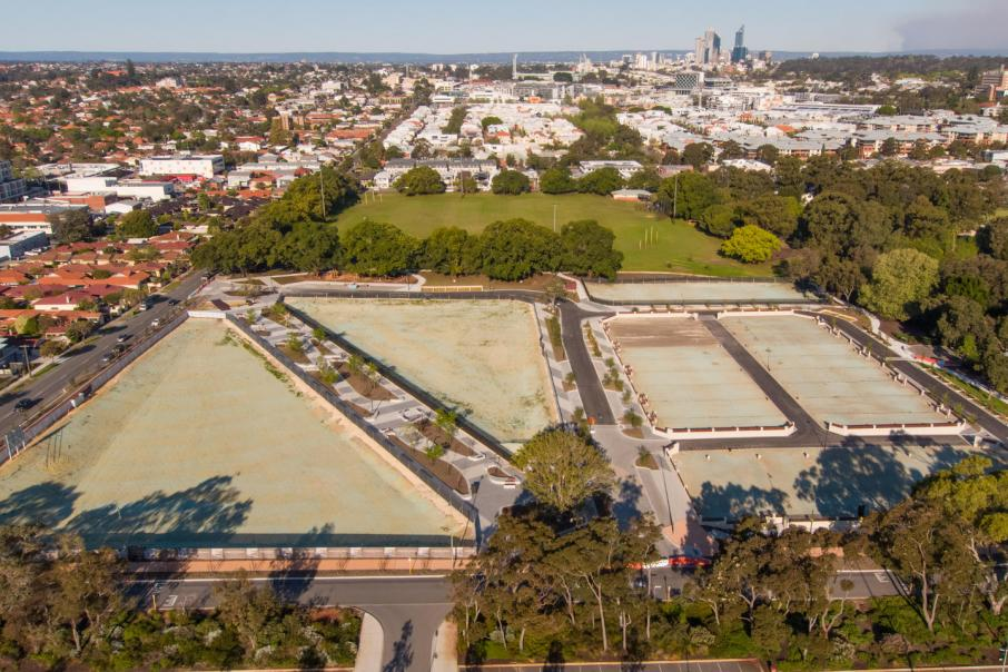 TRG Properties selected for Parkside Walk