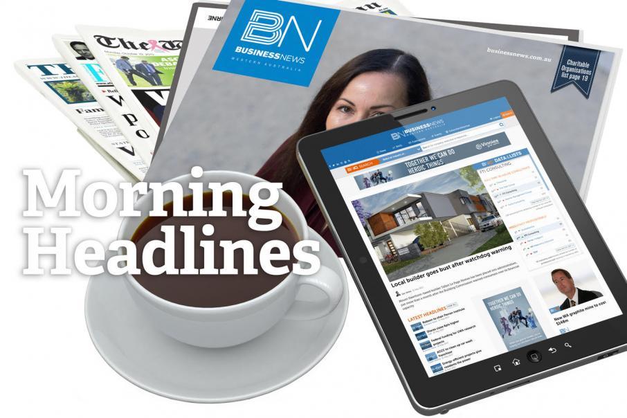 Morning Headlines