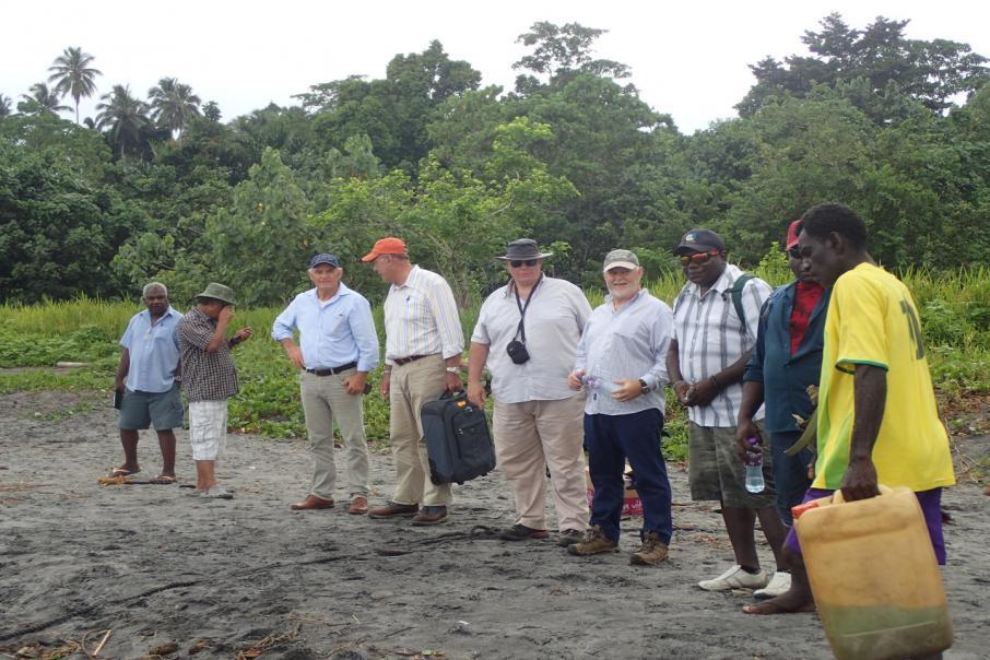 Kalia ups stake in Bougainville