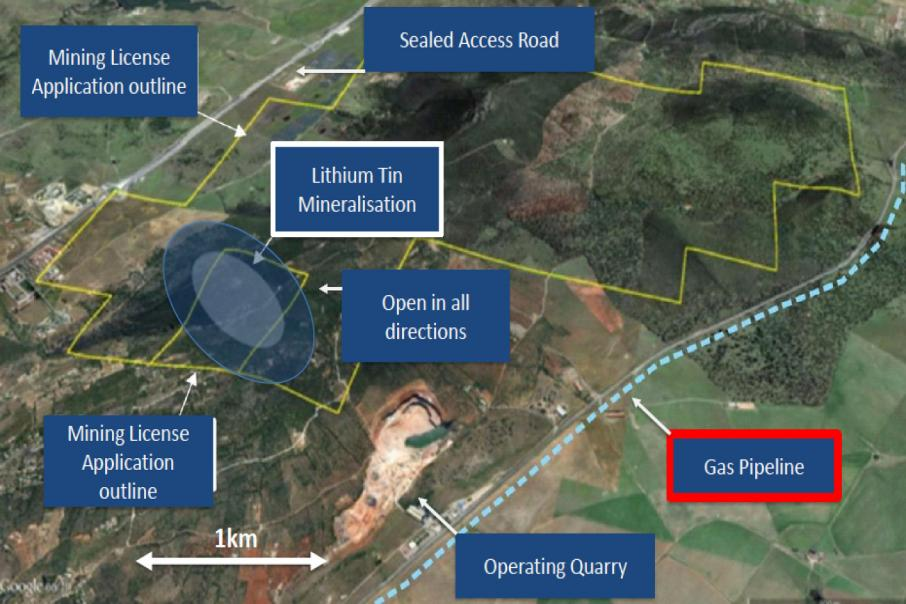 Infinity upgrades Spanish lithium resource status