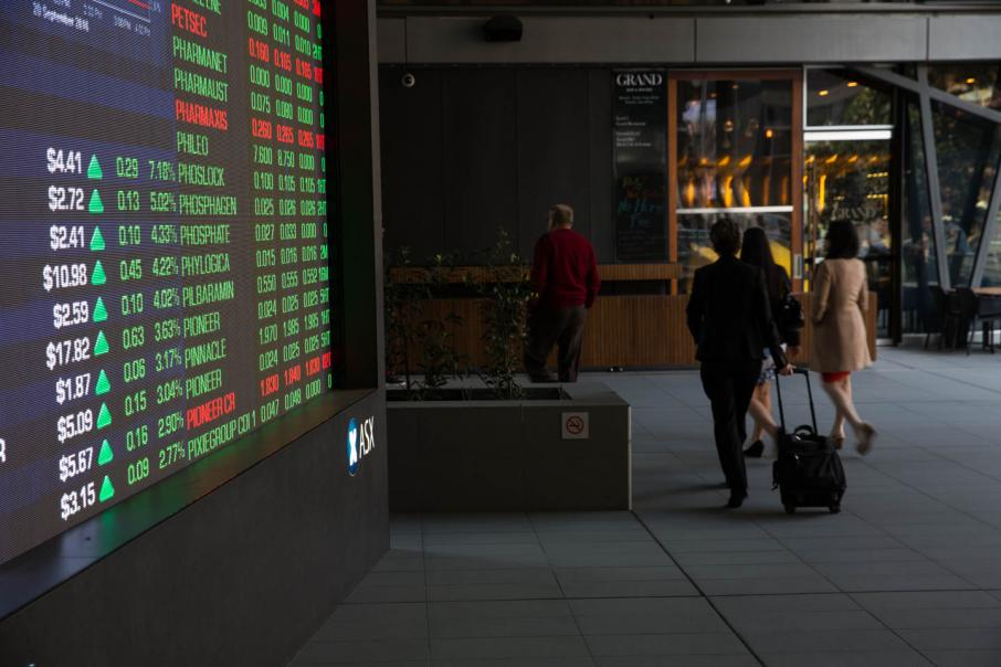 Australian market opens slightly lower