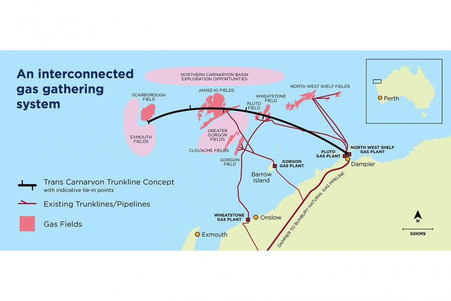Chevron proposes shared offshore pipeline