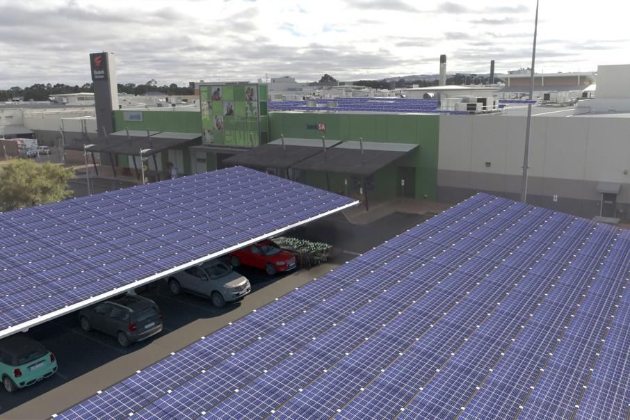 WA shopping centres go solar