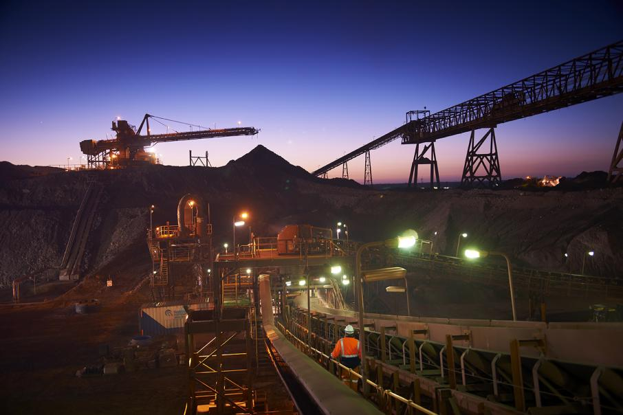BHP iron ore output up 3%