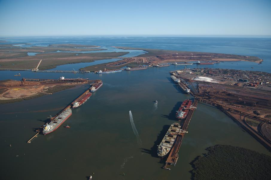 Iron ore drives record Pilbara exports
