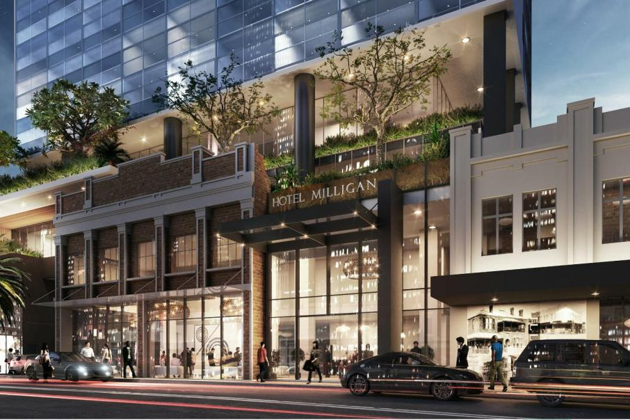 Fragrance gets the go ahead for $180m CBD twin-tower
