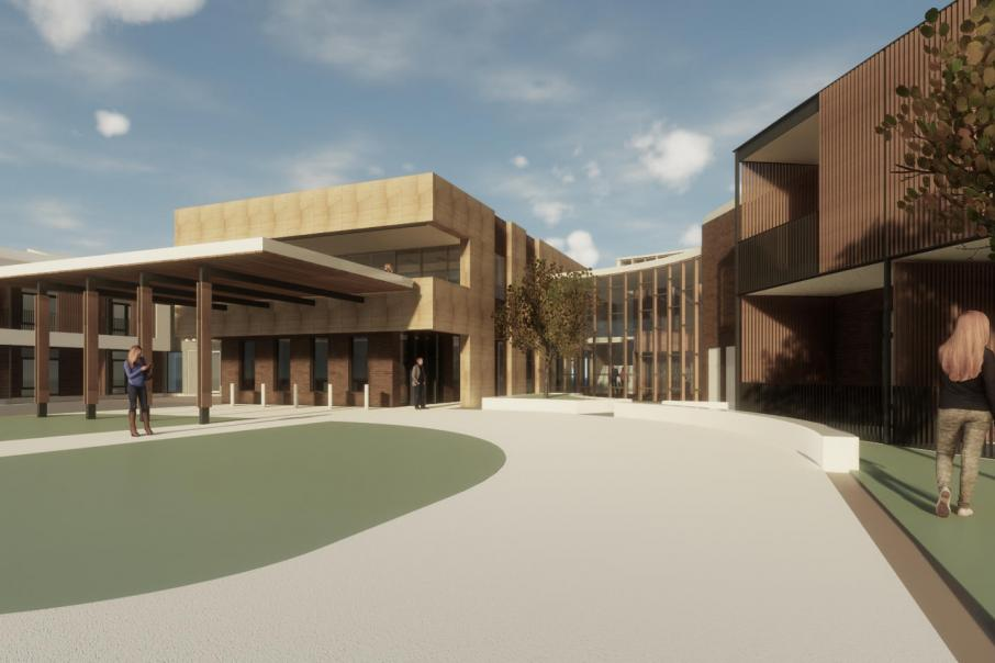 Works starts on $90m aged care precinct