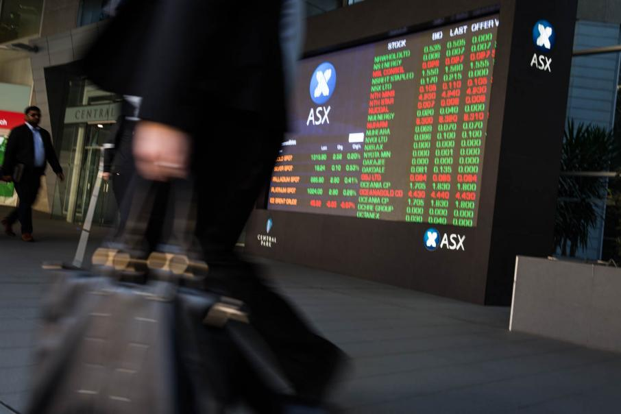 Aust shares fall despite upbeat results