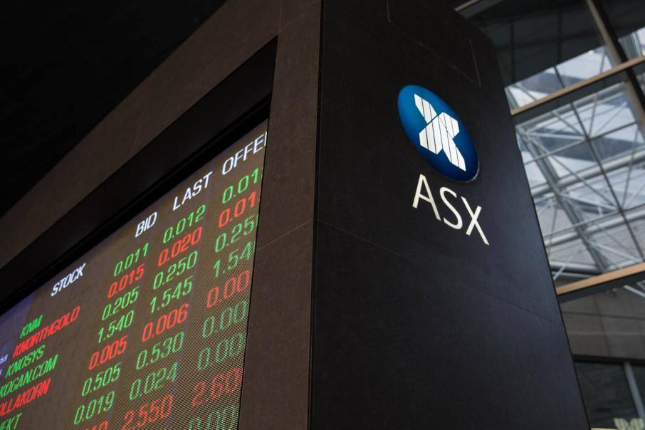 Aust shares down as trade worries weigh