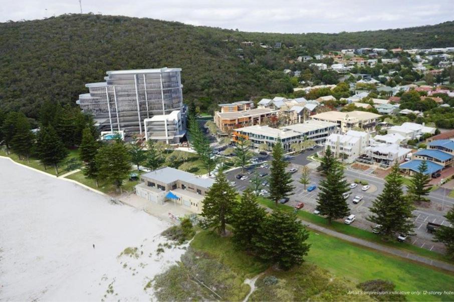 Albany hotel development stalls