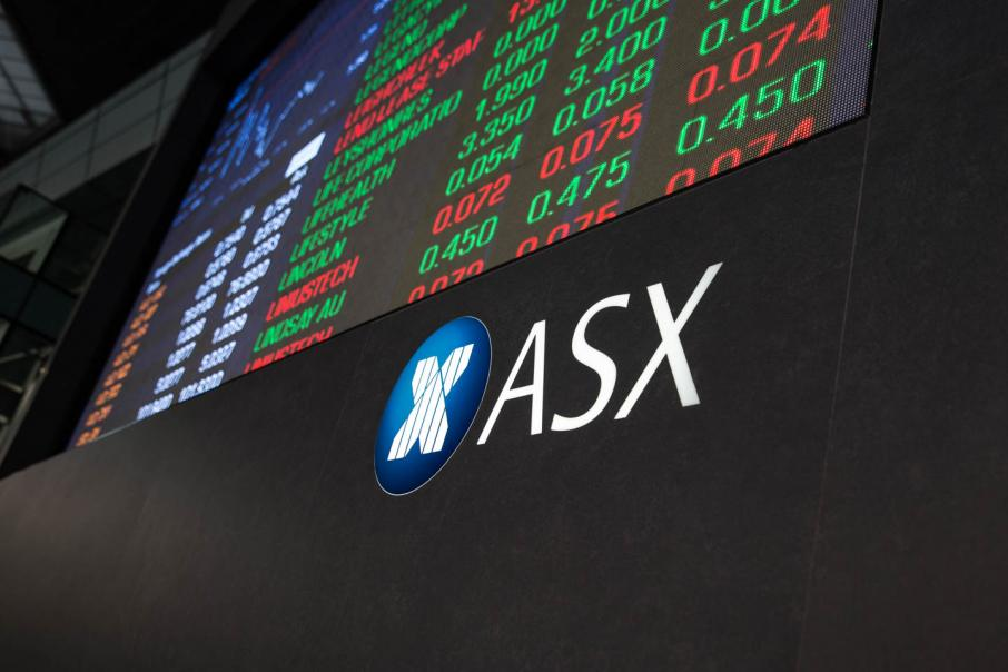 ASX down as oil, rates, trade worries bite
