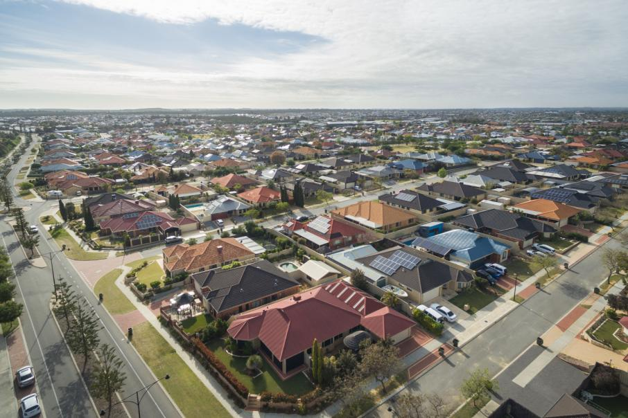 WA housing approvals fall