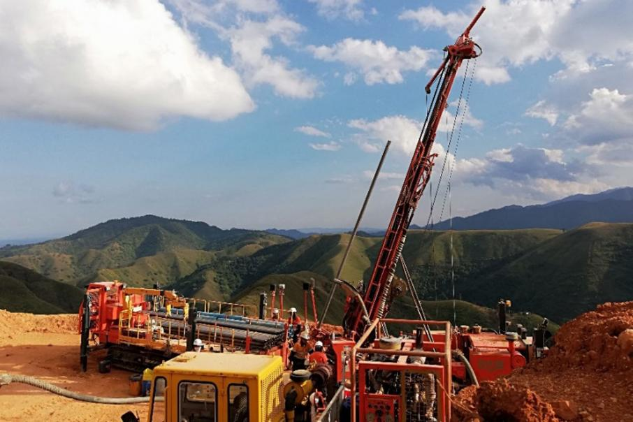 Myanmar turns waste into riches with drill bit