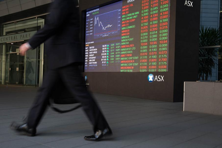 ASX starts the week with a slump