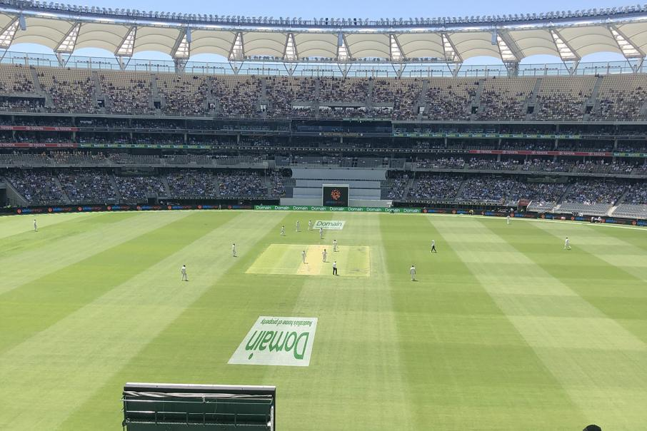 India slip to 2-15, chasing 287 in Perth