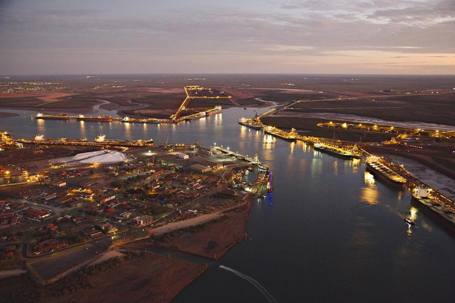 Port Hedland hits single-tide record tonnage