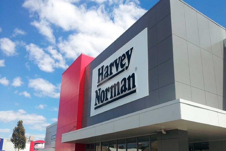 Harvey Norman profit up but Aust sales dip