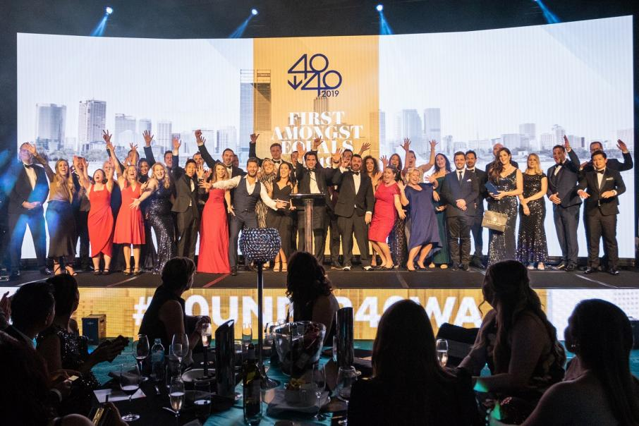 Relive the 40under40 gala awards