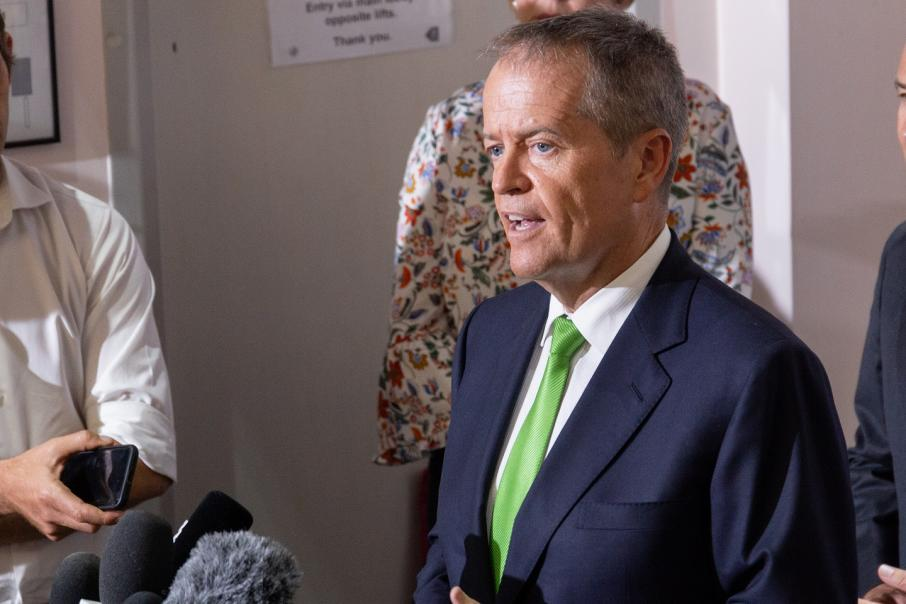 Shorten targets health, tax cuts in budget
