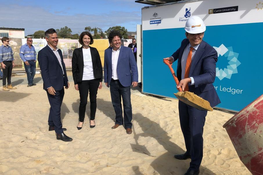 LandCorp, Power Ledger in 100% renewable development