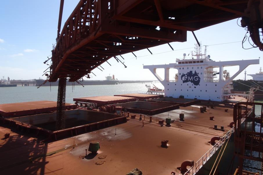 Iron ore exports fall 14%