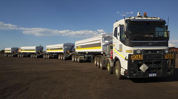 60-metre road trains for Pilbara