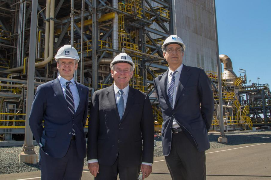 TAN plant formally opens