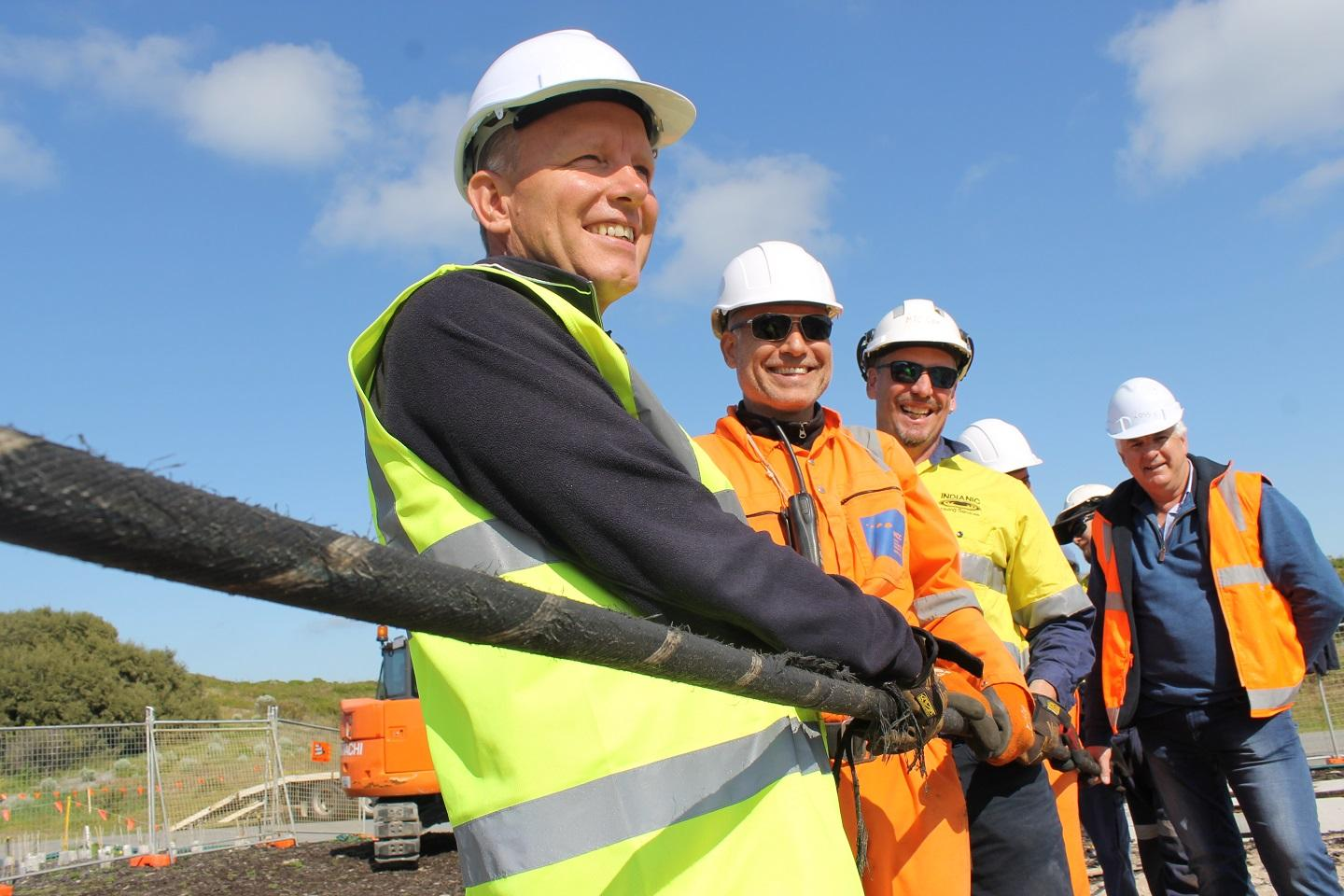 International internet cable to Perth launched