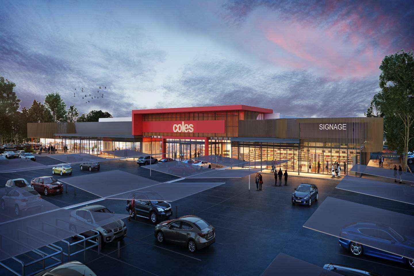 Coles gives an edge to new centre