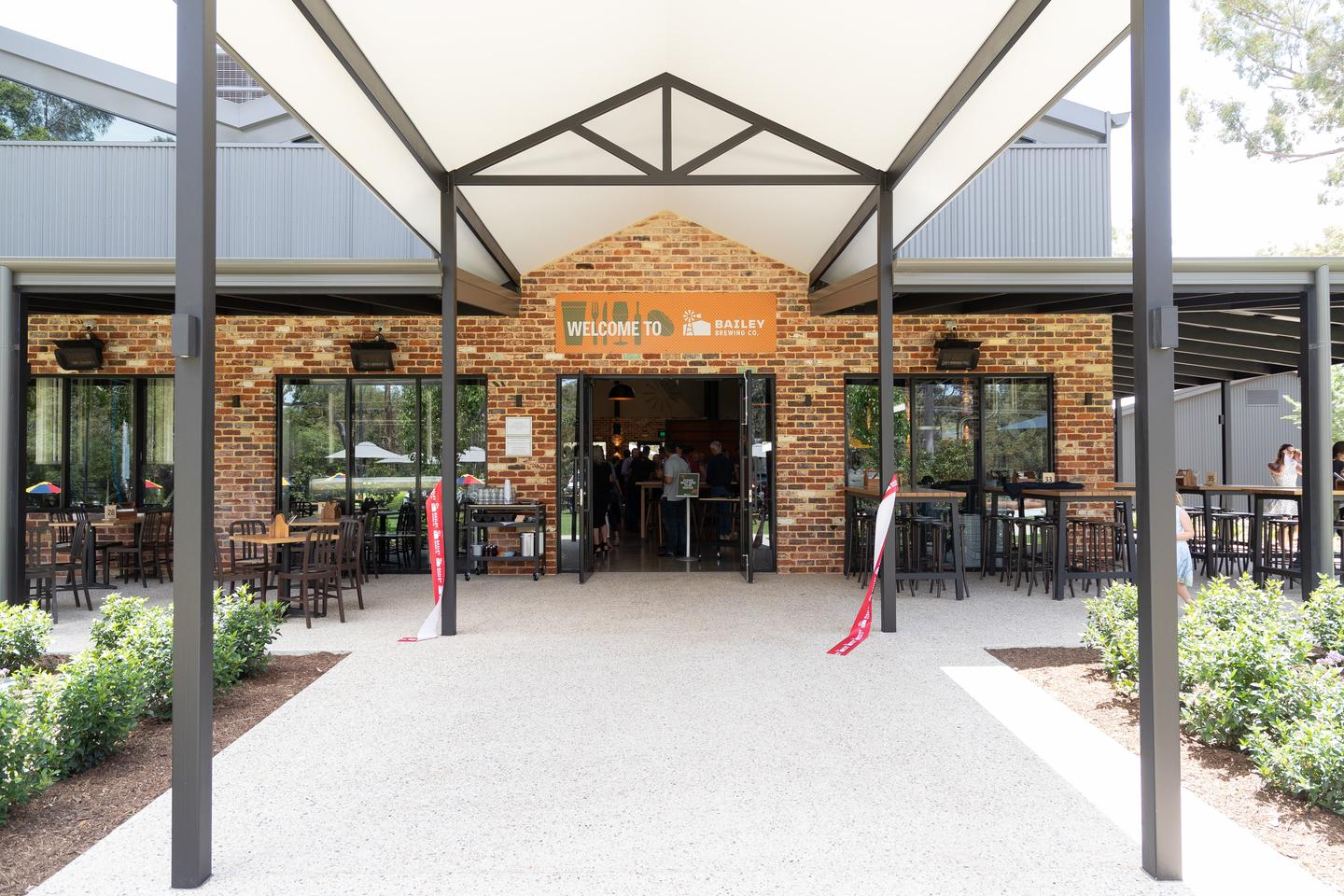 Bailey Brewing Company opens