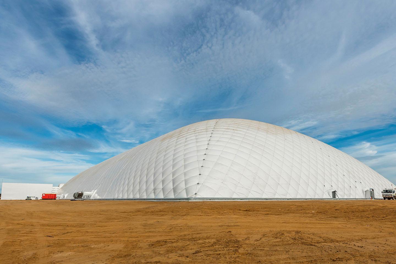 New facility for  hazardous waste